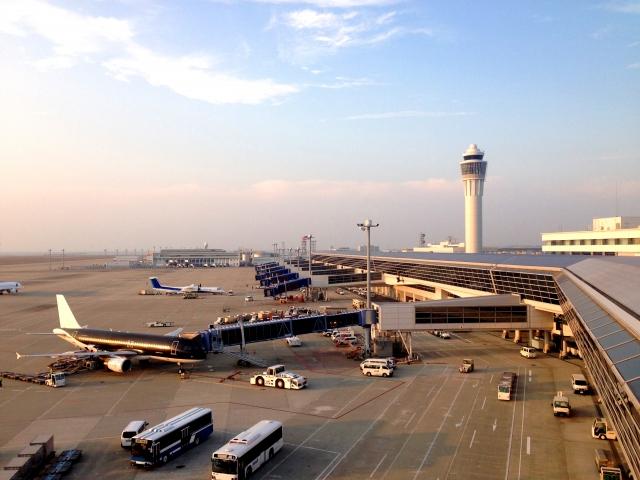 セントレア|中部国際空港|飛行機