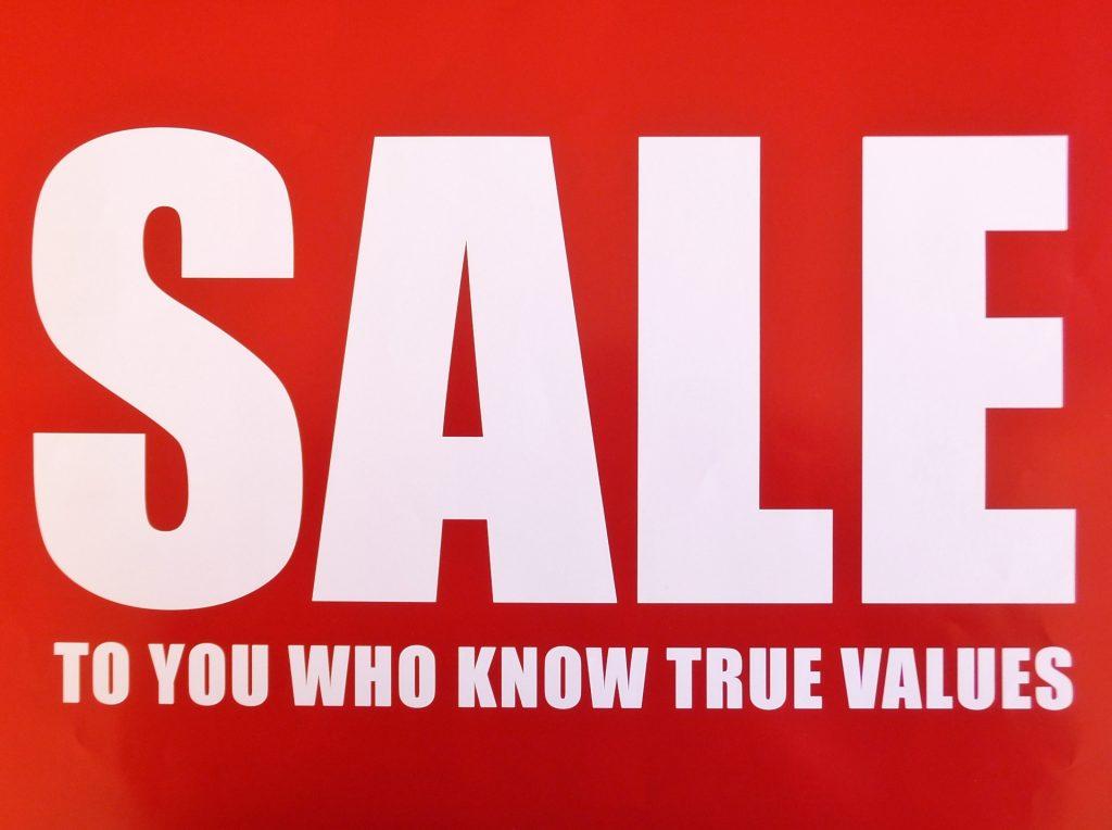 安売り|ディスカウント|セール