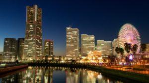 みなとみらい夜景|横浜駅イメージ